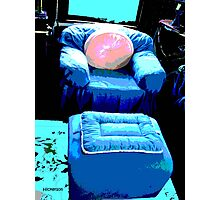 Compfy' Chair Photographic Print
