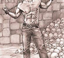 Eddie - Iron Maiden's Pin up boy by Alleycatsgarden