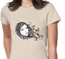 Hummingbirds Womens Fitted T-Shirt
