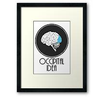 Occipital Idea Framed Print