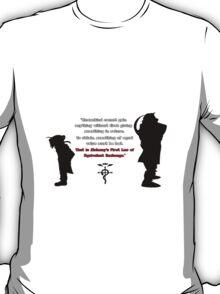 Full Metal Alchemist Equivalent Exchange Quote T-Shirt