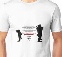 Full Metal Alchemist Equivalent Exchange Quote Unisex T-Shirt