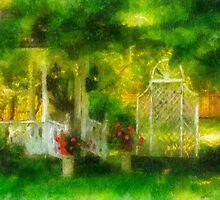 The Gazebo by Lois  Bryan