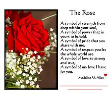 THE ROSE by Madeline M  Allen