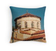 Ancient church view 2 Throw Pillow