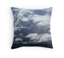 god is gathering Throw Pillow