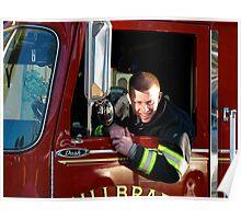Fire Captain Poster