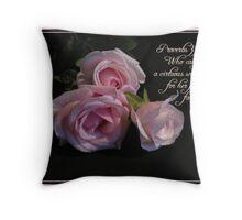 Virtuous Woman Throw Pillow