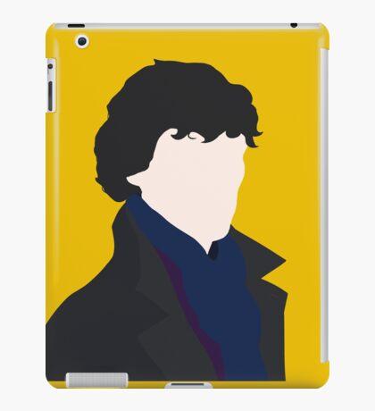Sherlock Holmes Minimalist iPad Case/Skin
