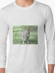Cute Wallaby Long Sleeve T-Shirt