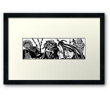 KANEKI X ARIMA Framed Print