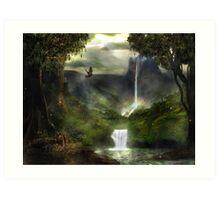 Mystic Falls Art Print
