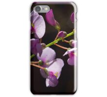 Hardenbergia violacea pink form iPhone Case/Skin