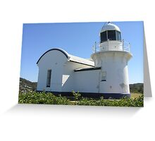 Port Macquarie Lighthouse.Tacking  Point Greeting Card