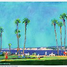 Scripps Park at La Jolla Cove by RDRiccoboni