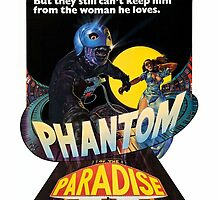 Phantom Of The Paradise 1974 Poster Artwork  by crampedmisfit90