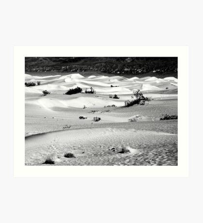 Sand Dunes, Death Valley Art Print