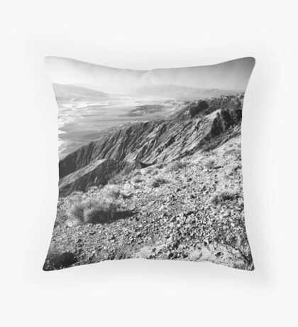 Dante's View, Death Valley Throw Pillow