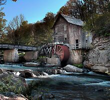 Babcock Park Grist Mill by Pretorious