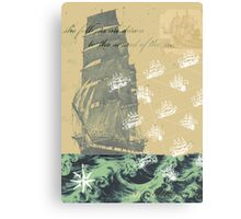 Sound of the Sea Canvas Print