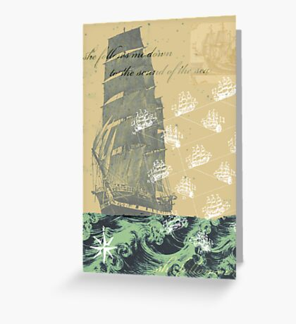 Sound of the Sea Greeting Card