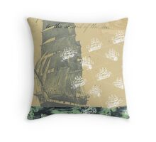 Sound of the Sea Throw Pillow