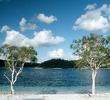 Lake MacKenzie on Fraser Island by Speedy