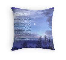 Simple Things Throw Pillow