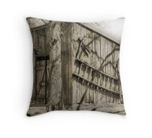 Blacksmith Shop Throw Pillow