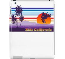 Ride California iPad Case/Skin