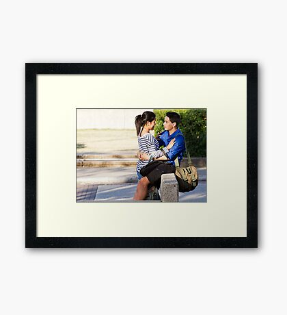 More Than Just Friends Framed Print