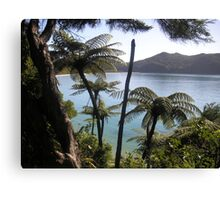abel tasman bay  Canvas Print