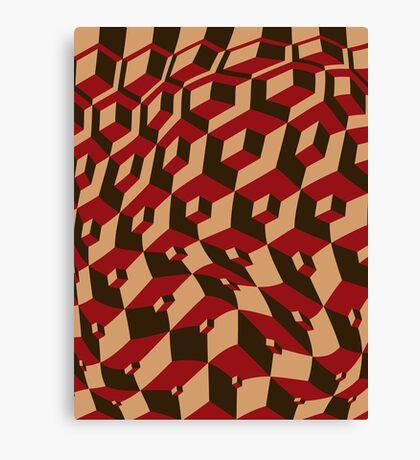 Escher Warped! Canvas Print