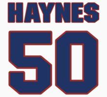 National baseball player Jimmy Haynes jersey 50 by imsport