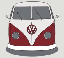 VW Splitwindow Kombi Front Small by frenzix