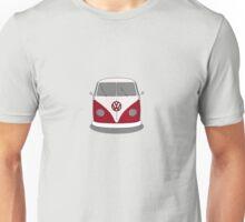 VW Splitwindow Kombi Front Small Unisex T-Shirt
