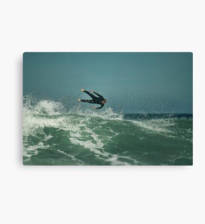 Wetsuit Icarus Canvas Print