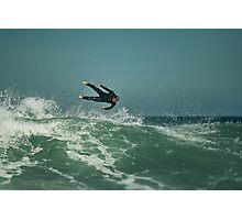 Wetsuit Icarus Photographic Print