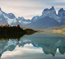 Torres Del Paine 3 by Carmel Harty
