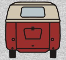 VW Barndoor Kombi Rear by frenzix