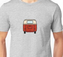 VW Barndoor Kombi Rear Unisex T-Shirt