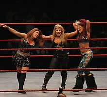 WWE - Trish Stratus / Mickie James / Melina by xTRIGx