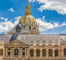 L'Hôtel des Invalides, Paris, France by Elaine Teague