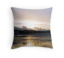 Balnakiel Beach , Sutherland UK Throw Pillow