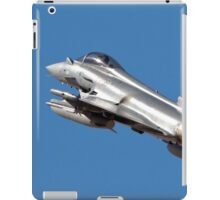 Italian Air force Eurofighter Typhoon in flight iPad Case/Skin
