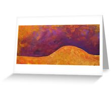Earth Form 3 Greeting Card