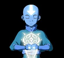 Avatar The Last Airbender Aang's Avatar State With Raava by AvatarSkyBison