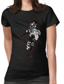 Zombie Rush 1 Womens Fitted T-Shirt
