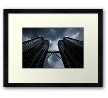 Petronas Twin Towers Framed Print