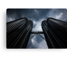 Petronas Twin Towers Canvas Print